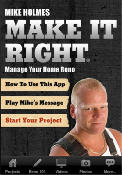 Mike Holmes book MAKE IT RIGHT