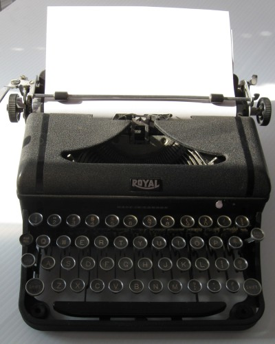 Writing Contest Antique Typewriter