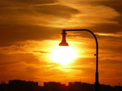 Lamp by Jiri Dokoupil