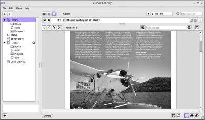Sony E-Book Library