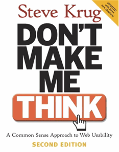 Book Dont Make Me Think