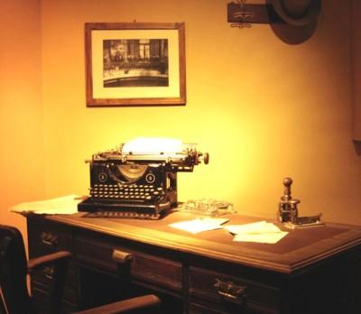 Desk and Typewriter