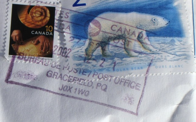 Stamp Polar Bear