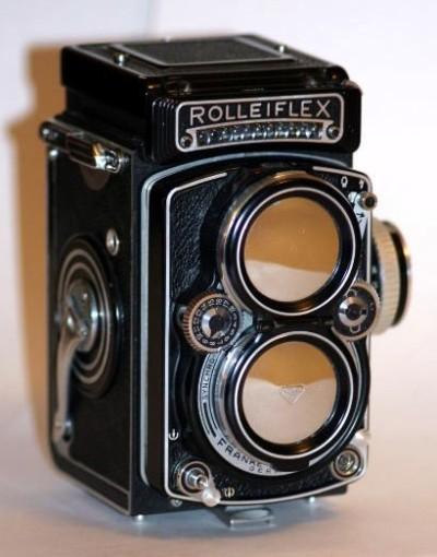 Antique Rolleiflex Camera
