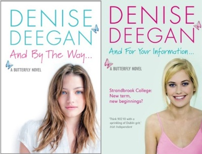 Two of Denise Deegan's YA novels