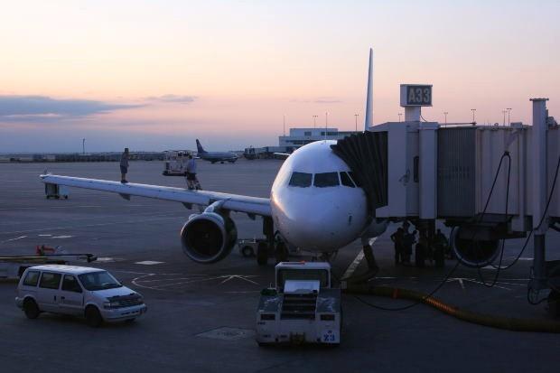 Airliner-Dock