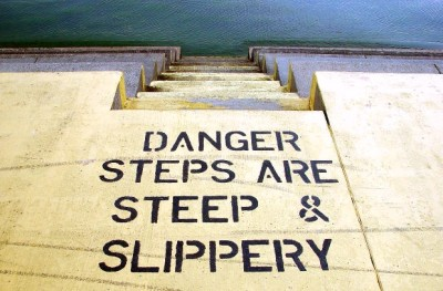 Caution-Slippery