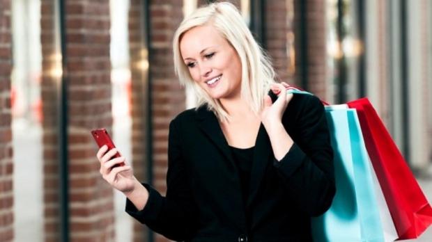 Smartphone-Shopping